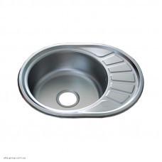 Кухонна мийка Kraft 57x45 0.8 Decor