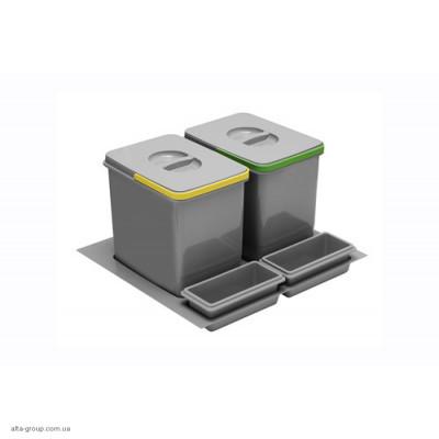 Сегрегатор MULTINO 600 мм 2X15Л + 2 ємкості