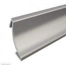 Накладка на вузький плінтус AP 120 (алюміній, сталь) 0.8 м