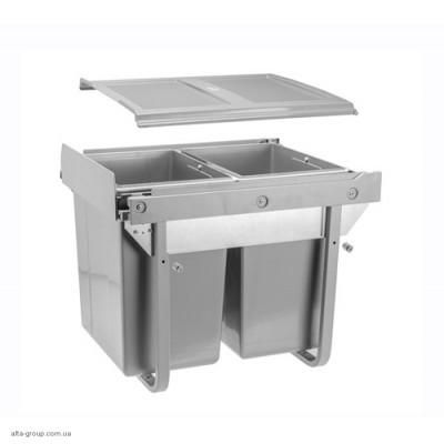 Сегрегатор для кухонних шаф високий 450 мм 2 х 20 л