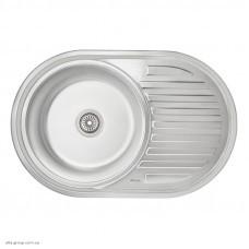 Кухонна мийка Imperial 7750 0.8 мм Decor