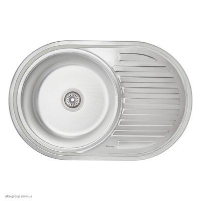 Кухонна мийка Imperial 7750 0.6 мм Decor