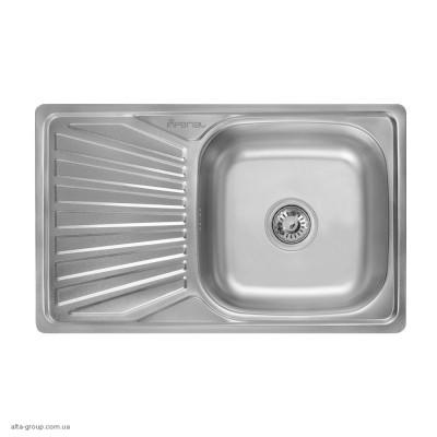 Кухонна мийка Imperial 7848 0.8 мм Satin