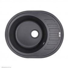 Гранітна мийка Lidz 620x500/200 BLA-03