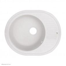 Гранітна мийка Lidz 620x500/200 WHI-01