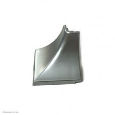 Кутник зовнішній до плінтуса алюміній Н-30 LS