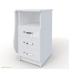 Манікюрний стіл M100K Естет компакт білий зі складною стільницею