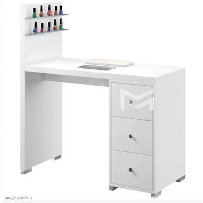 Манікюрний стіл M122 білий