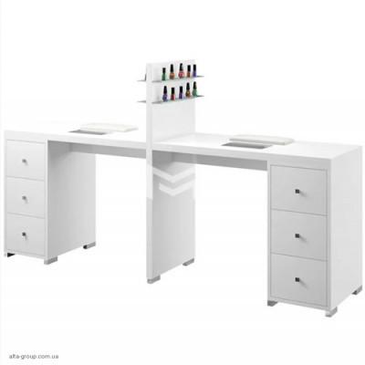 Манікюрний стіл M123 білий