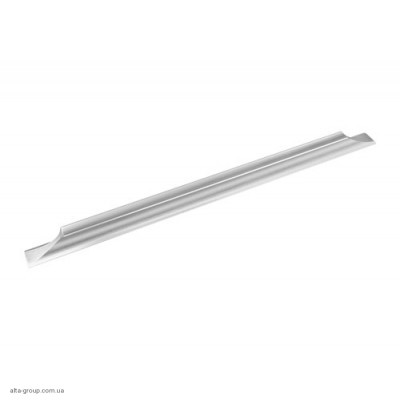 Ручка для меблів Virno Lines 408/320 нікель браш