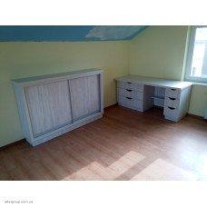 Дитячі меблі під індивідуальне замовлення (фасад світлий)