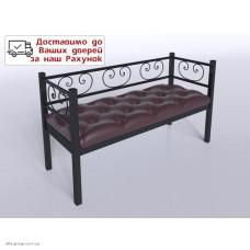 Двомісний диван кований Грін Трик (різні кольори)