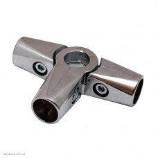Кріплення R-44 (З'єднувач 4-х труб) Хром