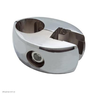 Кріплення R-7 (Тримач панелі на трубу, без вкладок) Хром