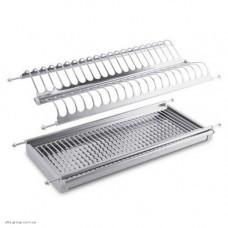 Сушка для посуду хром люкс