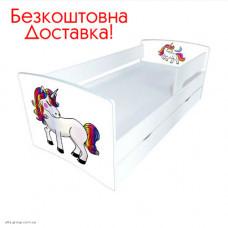 Ліжко дитяче Kinder-Cool 1736/836 (сп.м 1700 * 800 мм.) без ящика
