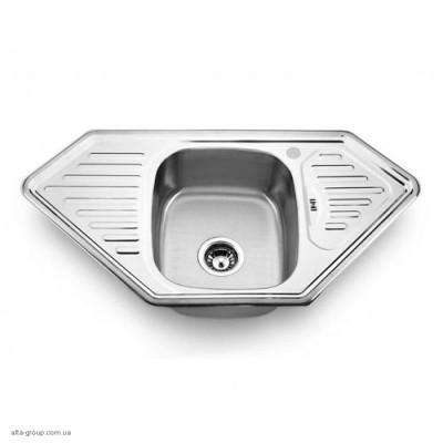 Кухонна мийка Matteo 9550A з нержавіючої сталі