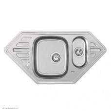 Кухонна мийка Kraft F9550C з нержавіючої сталі