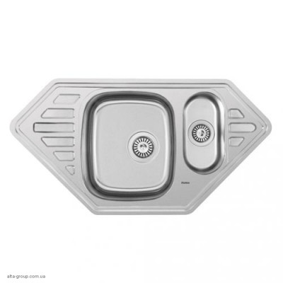 Кухонна мийка Matteo 9550C з нержавіючої сталі
