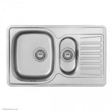 Кухонна мийка F-7848 з нержавіючої сталі