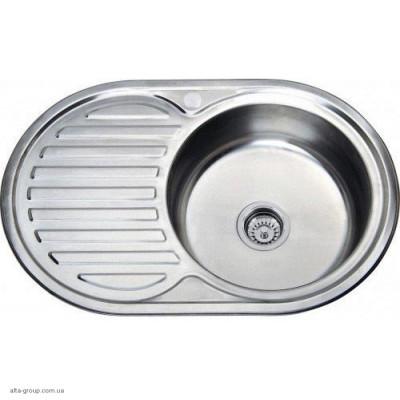 Кухонна мийка Kraft овальна 77*50 Матова