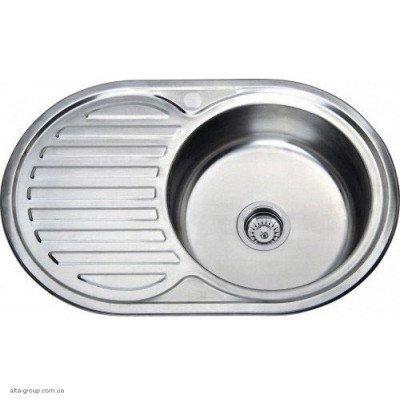 Кухонна мийка Kraft овальна 77*50 Декор