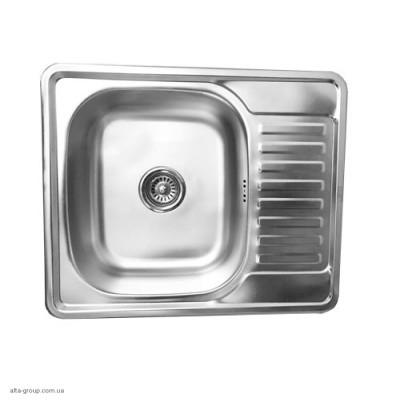 Кухонна мийка Kraft прямокутна 63*50 матова