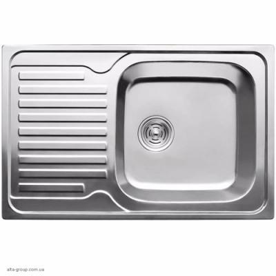 Кухонна мийка ULA 7203 ZS (7850) з нержавіючої сталі