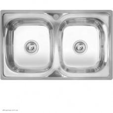 Кухонна мийка Kraft 401 подвійна прямокутна