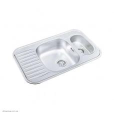 Кухонна мийка COP 775.490 15 GT 8K (сифон S 703 K) з нержавіючої сталі
