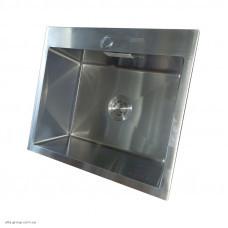 Кухонна мийка Kraft HS 5448 Handmade з нержавіючої сталі