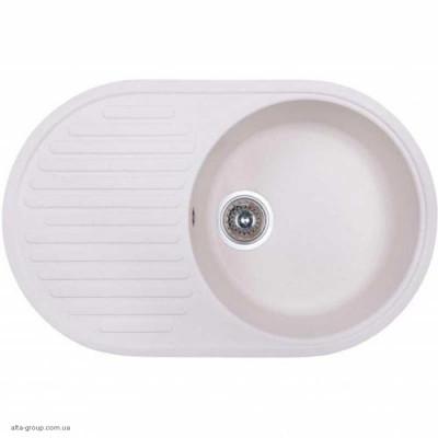 Кухонна мийка Fosto 74х46 SGA-203 керамічна (заметіль)