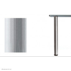 Опора для стола 60/710 рифленая алюминий