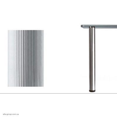 Опора для столу 60/710 рифлена алюміній