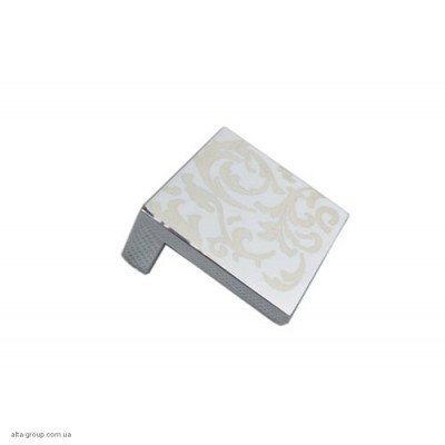 Ручка меблева 2935/32 (Хром з декором)