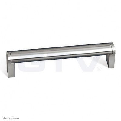 Ручка меблева UZ 682-320 (сталь) inox