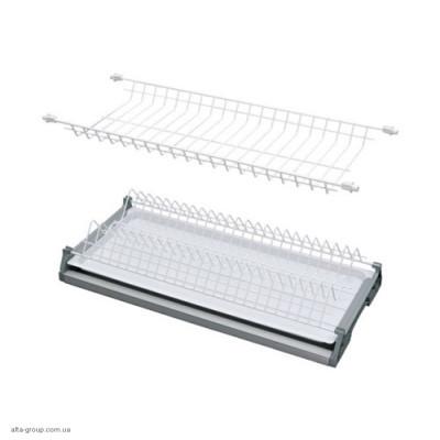 Сушка для посуду VARIANT 1 біла з рамою REJS