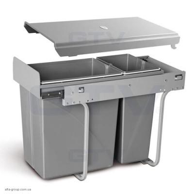 Сегрегатор для кухонних шаф 300 мм 20 + 10 л