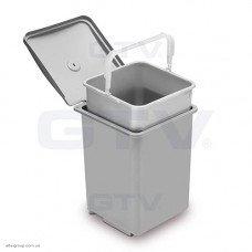 Відро для сміття QUADRA 13 л