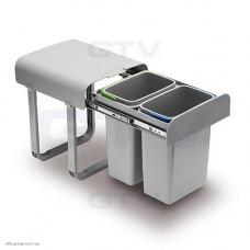 Відро для сміття TIRA 2 X 8 л