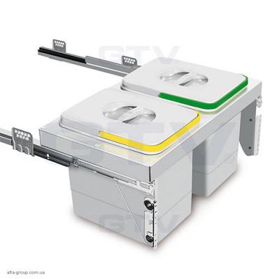 Сегрегатор UNITO без кришки 2 Х 15 л