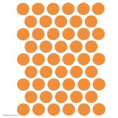 Заглушка самоклеюча на конфірмат оранж