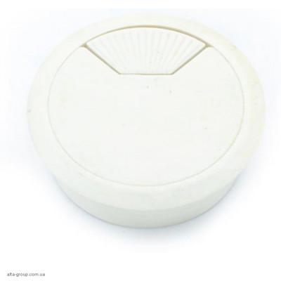 Заглушка для проводів біла